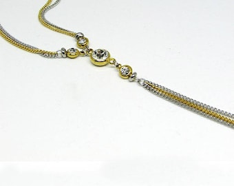 Necklace - stainless steel - Y - VIP