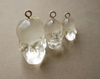 30Pcs Crystal Skulls