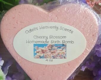 Cherry Blossom Homemade Bath Bomb