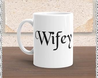 Wifey/Hubby Coffee Mugs