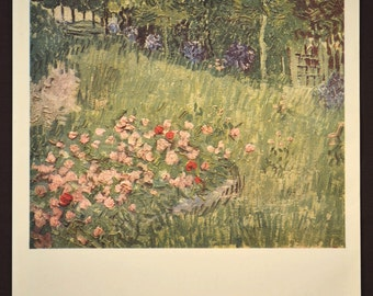 Garden Wall Art Flower Wall Decor Floral Print Van Gogh Artwork