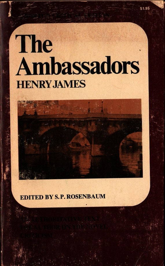 The Ambassadors + Norton Critical Edition + Henry James + 1964 + Vintage Classic Book