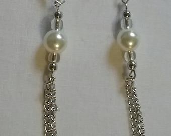 Small Tassel Chain Earrings (#98)