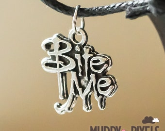 Kawaii Little Bite Me Necklace or Bracelet - So cute!