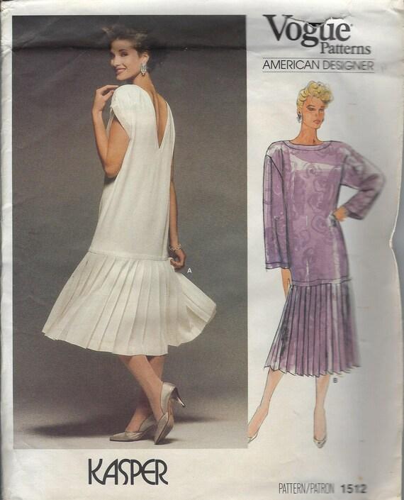 Kasper-Muster formale Kleid OOP Vogue Muster OOP