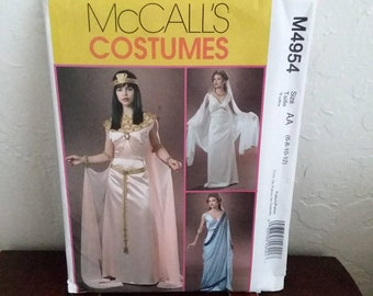 McCall's M4954 Cleopatra, Athena, Helen of Troy Costume Pattern