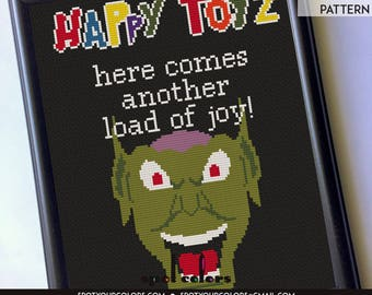 Maximum Overdrive Happy Toyz 8 x 10 Film Movie Counted Cross Stitch Pattern Download Intermediate