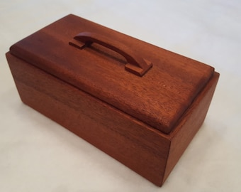Wood Box, Mahogany