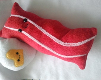 Happy Bacon Plush -Made to Order