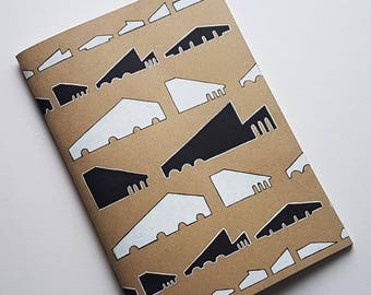 A5 Hand illustrated sketchbook