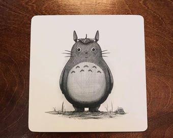 Friendly neighbor print - Totoro - ghibli - art print
