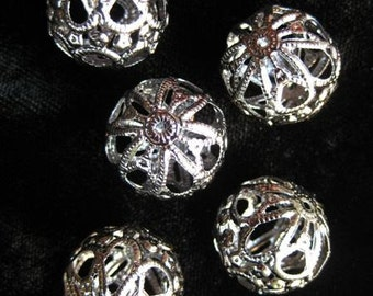 Filigree Beads CASABLANCA  for torch firing