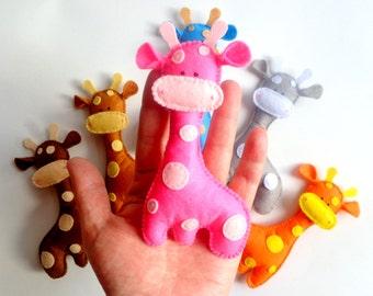 first nursery Christmas toy giraffe, plush giraffe, soft toy giraffe,stuffed animal giraffe, giraffe nursery, giraffe toy, safari animal