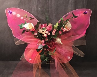 Woodland Fairy Wings Wearable or Display