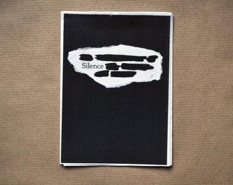Silence - A6 Zine