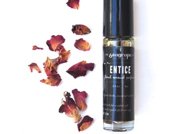 SALE Entice- Sensual all natural roll-on essential oil perfume