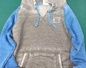 R+F- Women's Zen Fleece Raglan Sleeve Crewneck Sweatshirt- Consultant Gift- Rodan and Fields