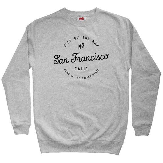 SF Gothic San Francisco Hoodie - Men S M L XL 2x 3x - Gift For Men, Gift for Her, SF Hoodie, San Francisco Hoodie, Gothic Letters, Baseball