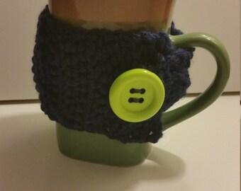 Crochet Coffee Cup Coozy