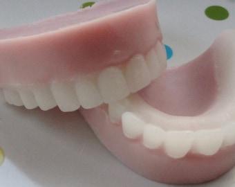 Over the HIll False Teeth Soap