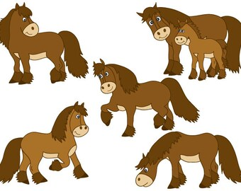 horse clipart silhouette vector horses clip art cards rh etsy com clipart horseshoe clip art horses running