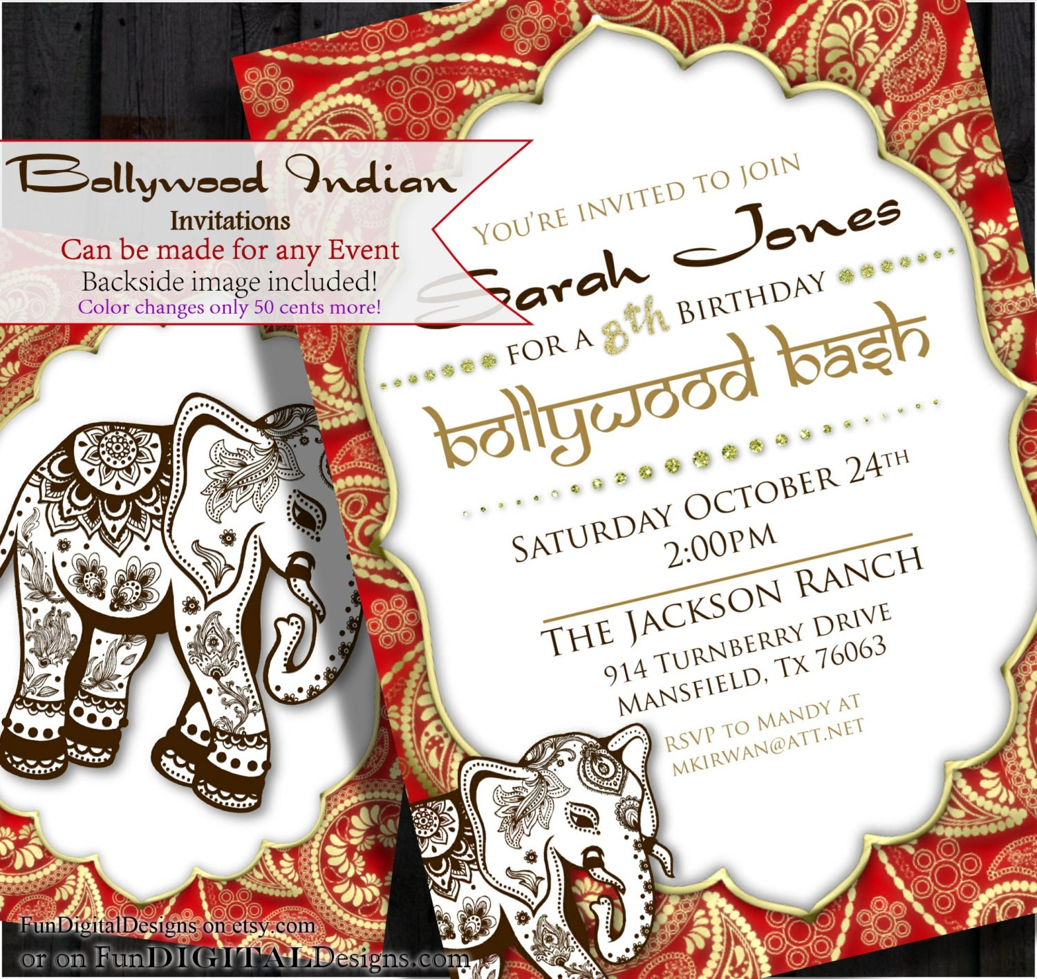 Luxury Indian Party Invitations Photos - Invitation Card Ideas ...