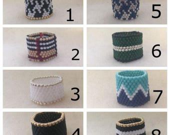 Beaded Rings  ***10.00 each***