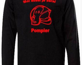 Boy black long sleeve T-shirt