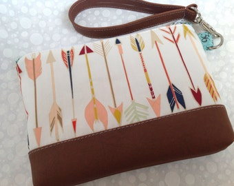 Wild and Free Arrows with Faux Leather