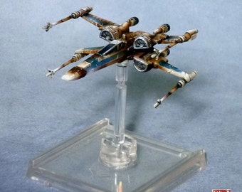 X wing,  Vaisseau Star Wars, pro painting.