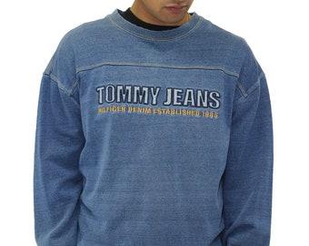 Vintage Tommy Hilfiger Jeans Sweatshirt Crewneck Size XXL