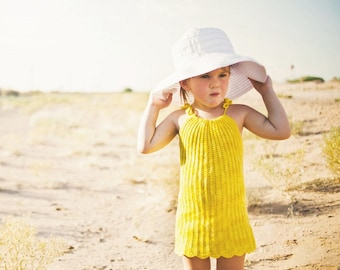 Super Easy Crochet Pattern Toddler Dress Pattern No. 13
