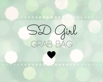 5 piece SD Girl BJD Grab Bag - BJD Lucky Pack - Bjd Clothes 1/3 - Bjd Sd Clothes - Doll Clothes Bundle - Bjd Pastel Clothes - Bjd Skirt