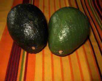 New Pattern! Primitive Folk Art Avocado