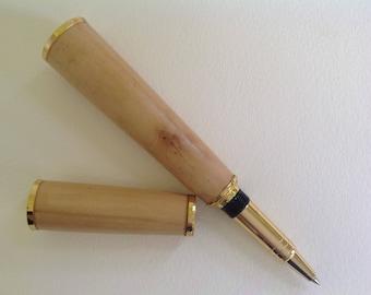 Wooden pen ,Photina  wood hand turned pen,big wooden pen, desk pen.