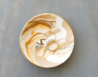 Safari Attire Marbled Ring Dish