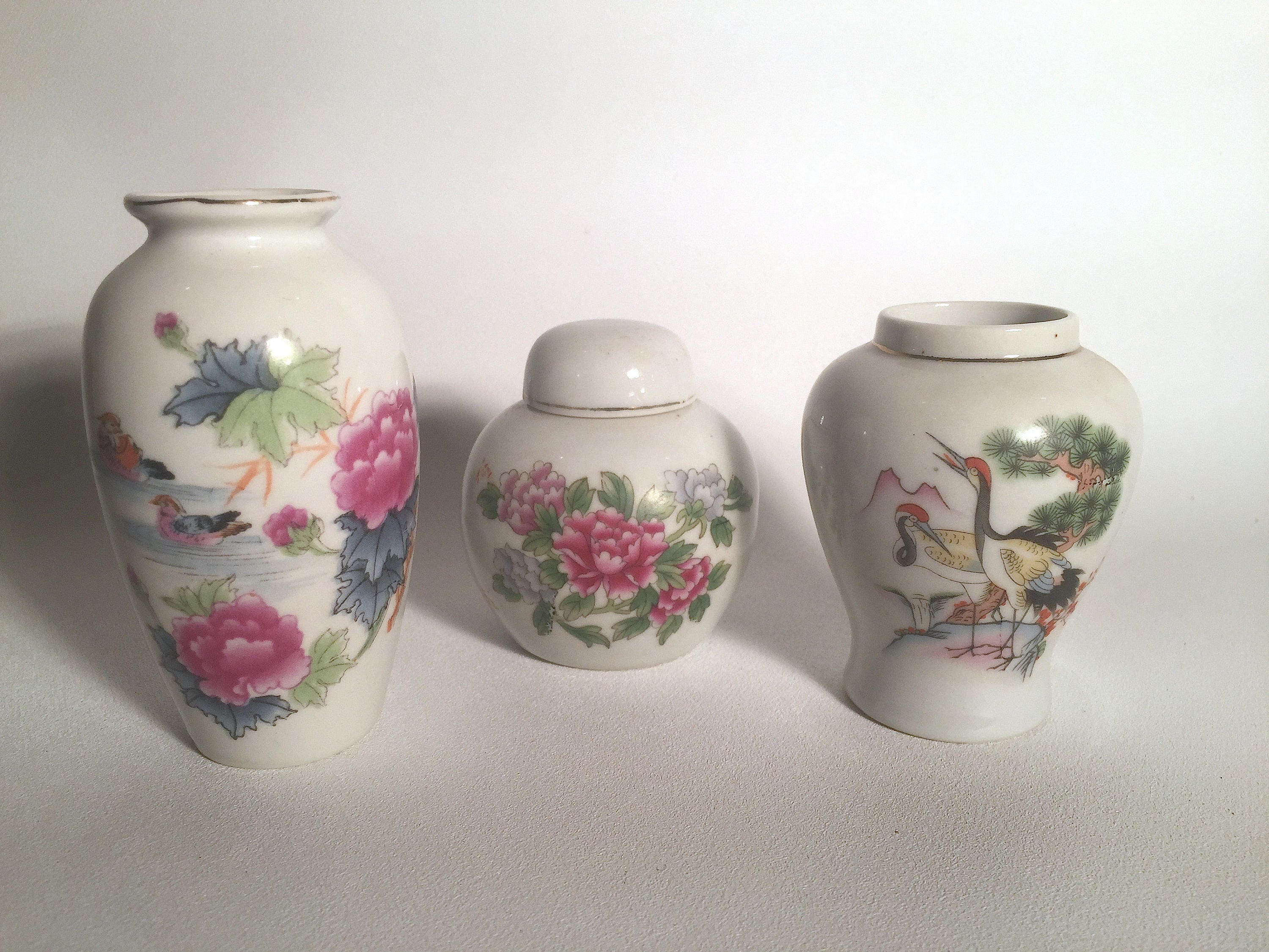 Set of 3 small japanese vases description set of 3 small japanese vases reviewsmspy