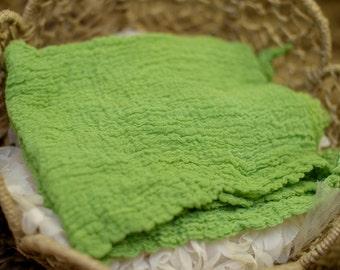 Irish Eyes Newborn Cheesecloth Wrap