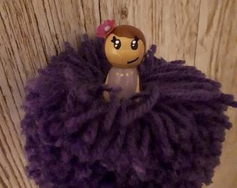 Hanging Pom Pom fairys
