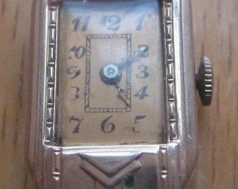 1920 Era Art Deco Ladies Watch 15 Jewels