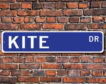 Kite, Kite Gift, Kite Sign, Kite decor, Kite lover, large birds of prey, bird lover, bird expert, Custom Street Sign, Quality Metal sign