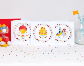 Celebrating Love! Set of 12 cards (4 of each)