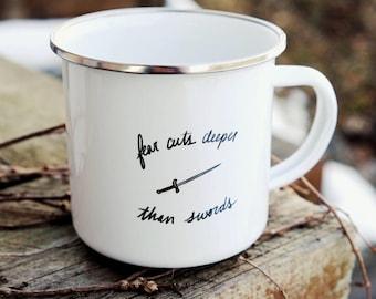 Sword Mug / Needle camp mug