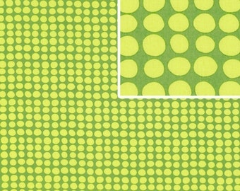 Amy Butler Fabric / LOVE Collection / Sunspots in OLIVE,,,1 yd Quilt Fabric
