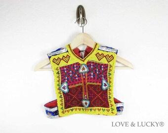 ON SALE Kutchi Tribal Patch / Afghan Dress Patch / ku-vest-patch-23
