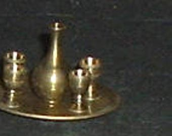 WINE SERVICE Carife with 4 Cups