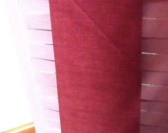 no. 1017 Burgundy red Cool Weave Fabric by the Yard
