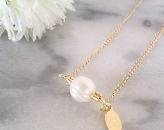 Pearl Necklace - 14K Goldfilled