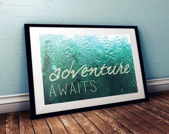 Adventure AWAITS Digital Poster
