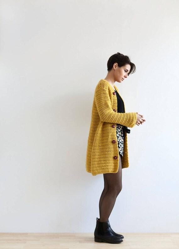 Crochet Pattern for Women, PDF Crochet Pattern, Cardigan Crochet ...
